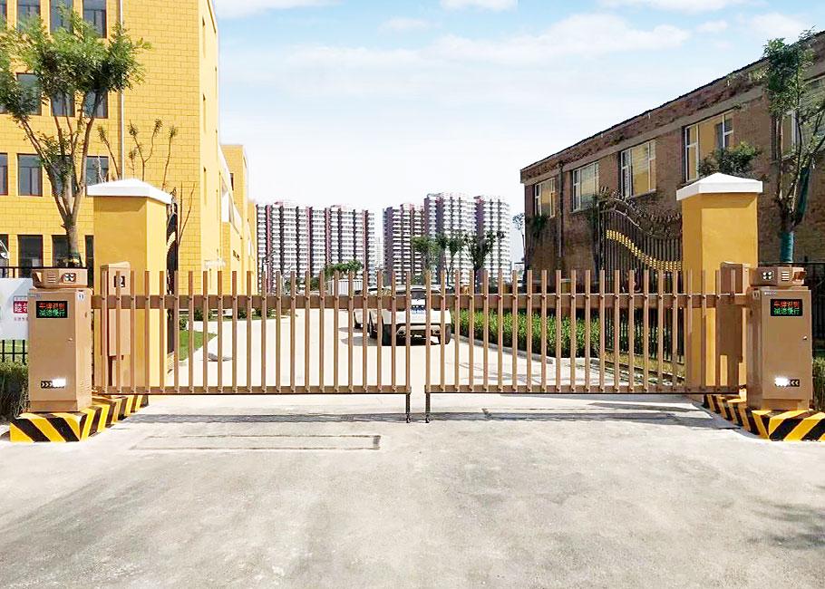 车牌识别地下停车场案例