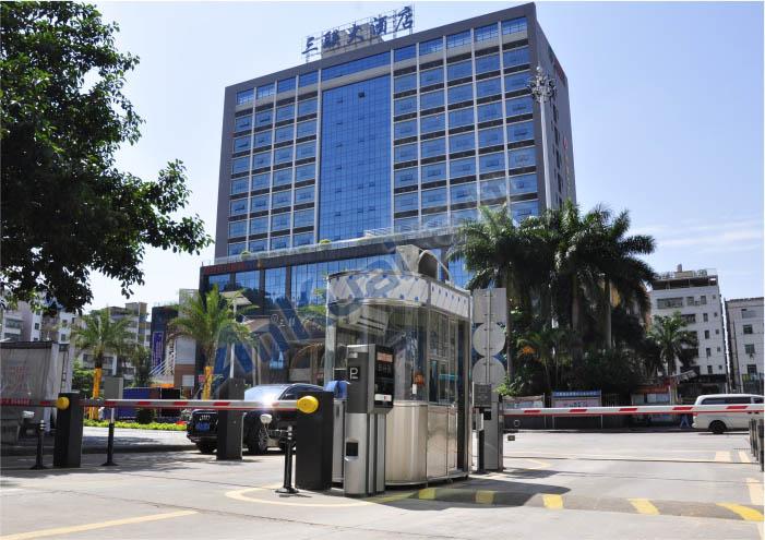 三联大酒店停车场管理系统案例